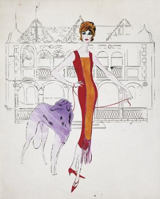 Andy Warhol - Female Figure (1959)
