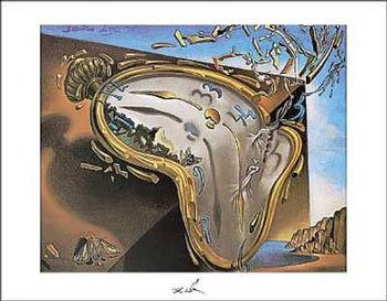 Salvador Dalí - Clock Explosion