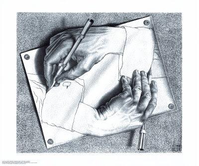 M. Escher - Drawing Hands