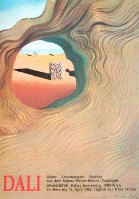 Salvador Dali - View to the Beach