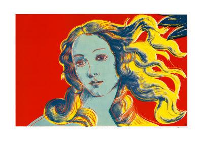 Andy Warhol - Birth of Venus