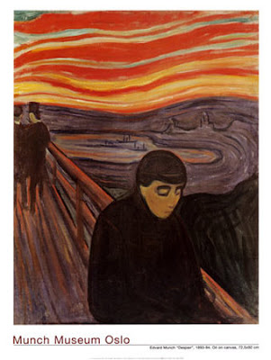 Edvard Munch - Despair (1904)