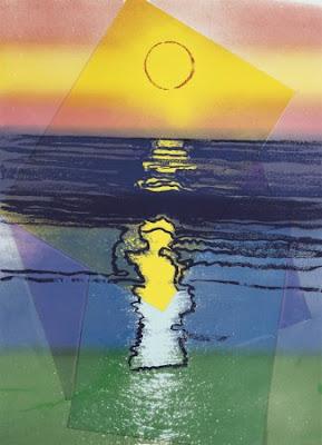 Andy Warhol - Sunset (1972)