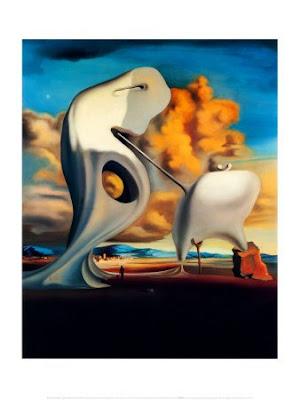 Salvador Dalí - Millets Architectonic Angelus