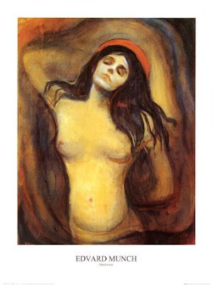 Edvard Munch - Madonna (1895)