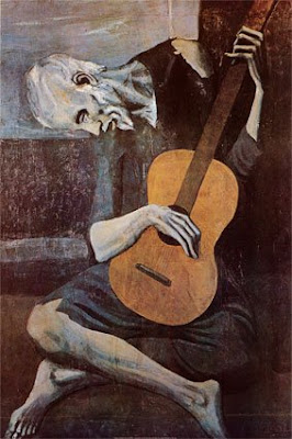 Pablo Picasso - The Old Guitarrist (1903)