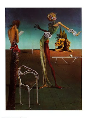Salvador Dalí - Woman with the Head Full of Roses