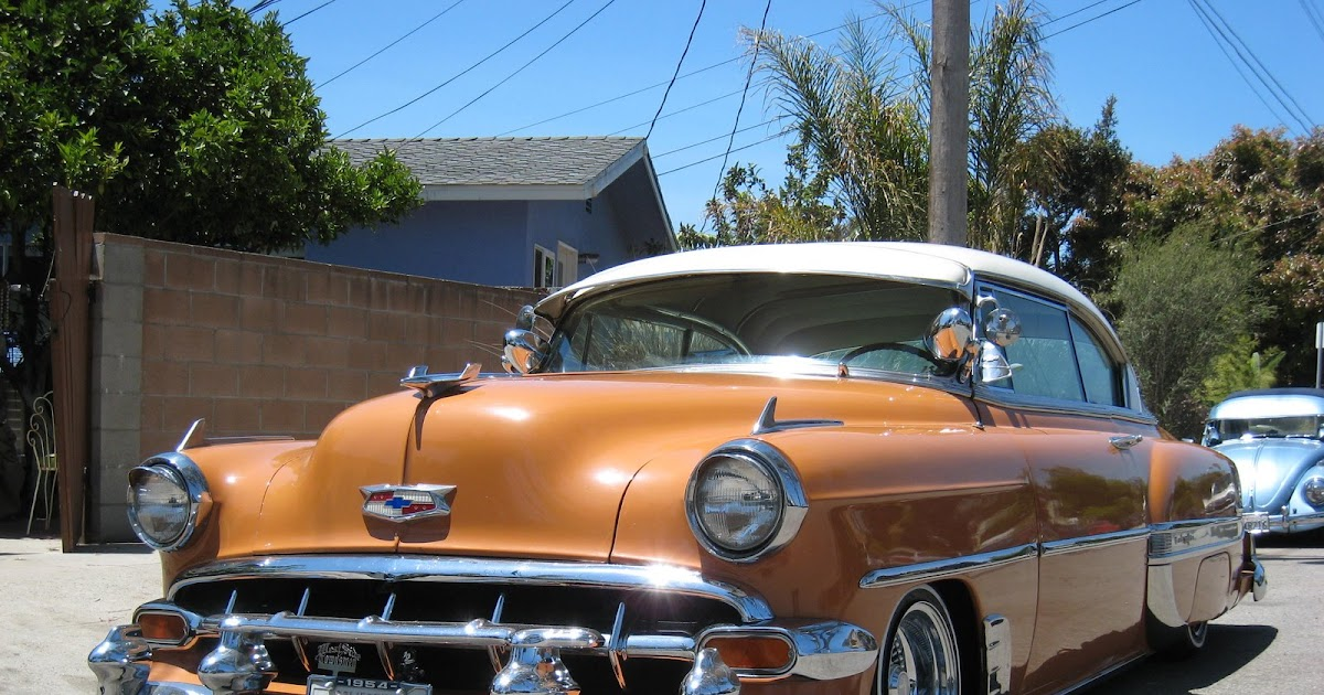 classic cars of los angeles 39 54 chevy. Black Bedroom Furniture Sets. Home Design Ideas