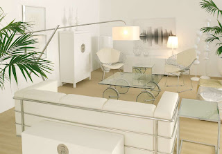 Notranja oprema - dnevna soba - pohištvo.