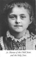 St Teresa at 8 yrs old