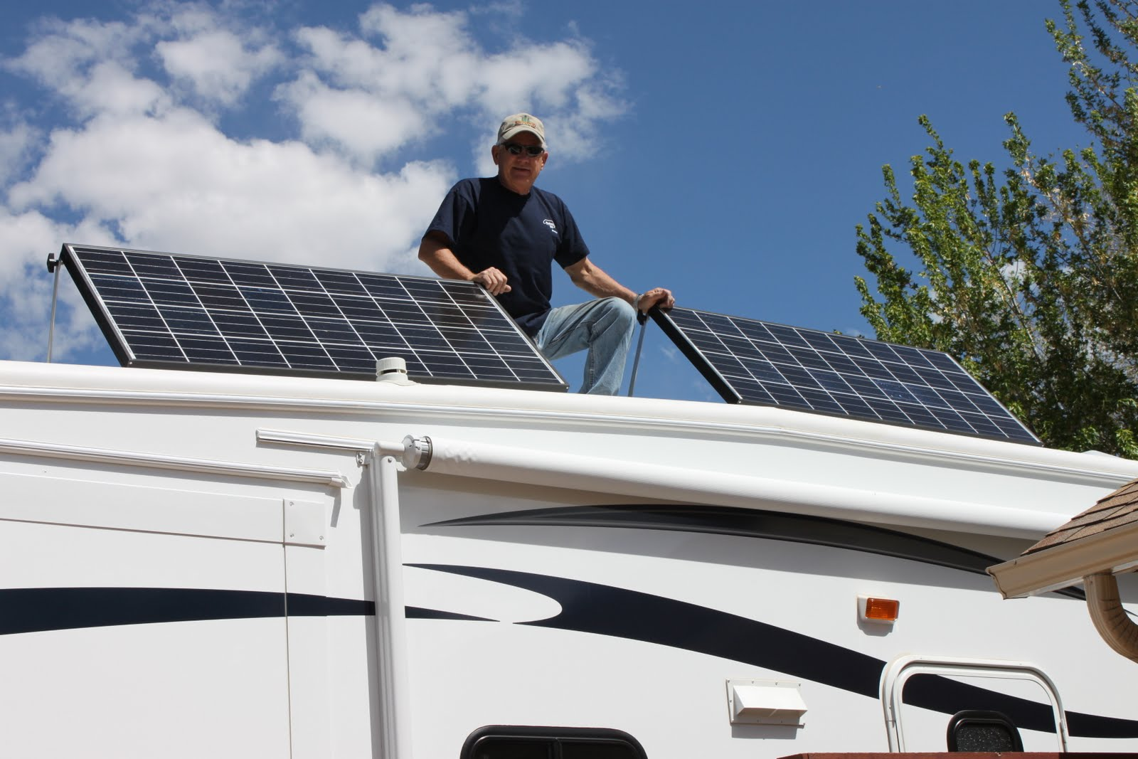 Rv Solar Diy For The Montana Series Parallel Battery Wiring Northernarizonawindandsun