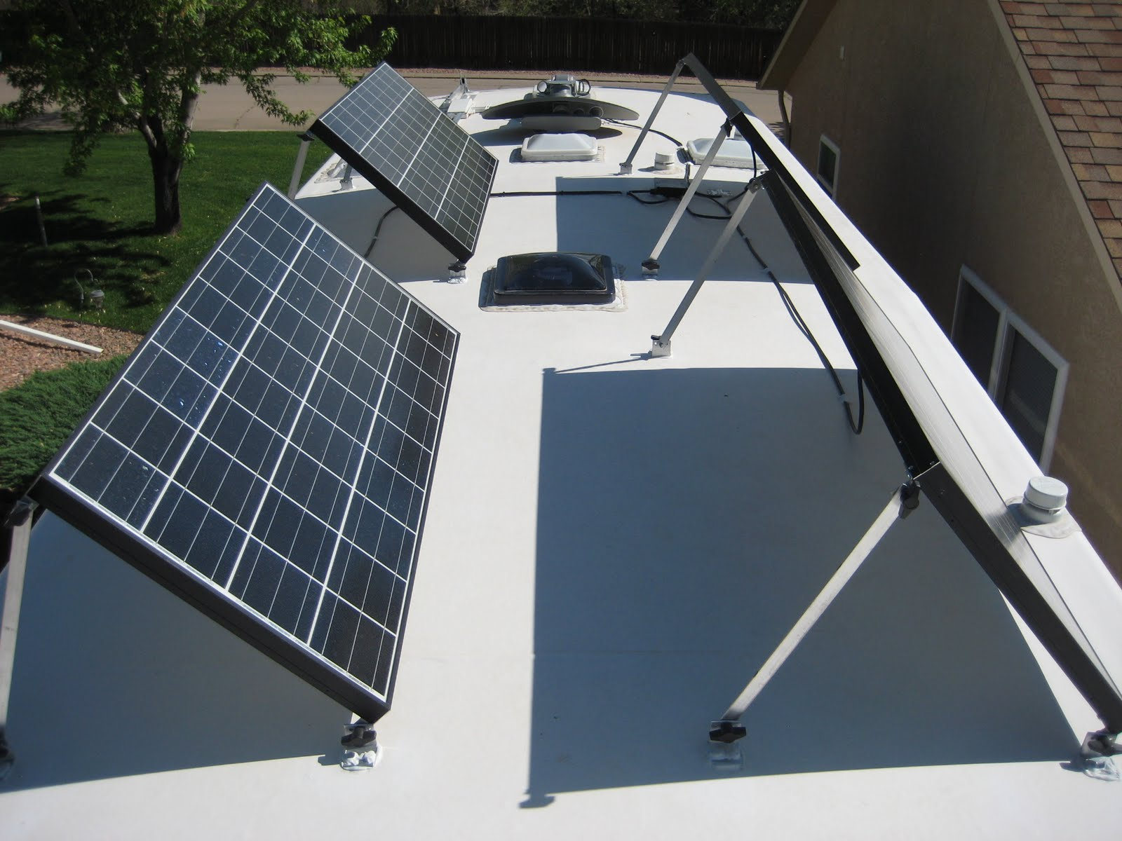 Diy Solar Panel Mount Rv Solar Diy