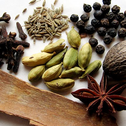 रुचकर जेवण: English Names For Indian Herbs, Spices
