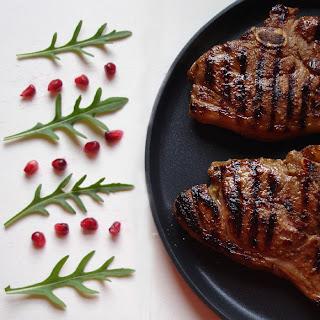 Tea and Wheaten Bread: Pomegranate and Honey Glazed Lamb