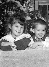 Ashley and her brother Regis Christmas 1993