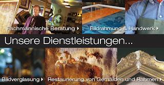 Bilderrahmen Wien - Unser Handwerk