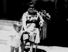 Ivan José e dona Trindade