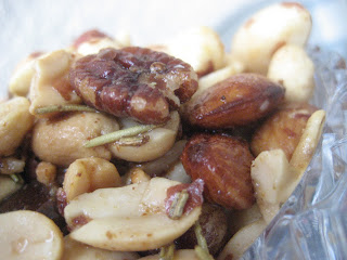 Mixed Nuts with Rosemary
