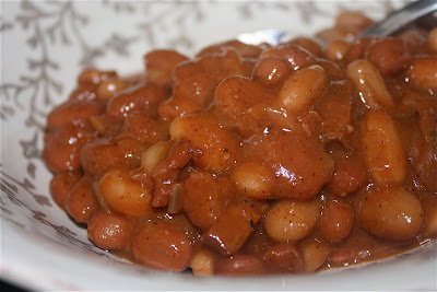 Slow Cooker Barbeque Beans