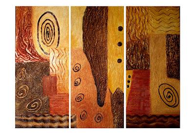 Cuadros abstractos realistas alegres juveniles muy - Cuadros muy modernos ...