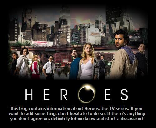 Heroes - the series