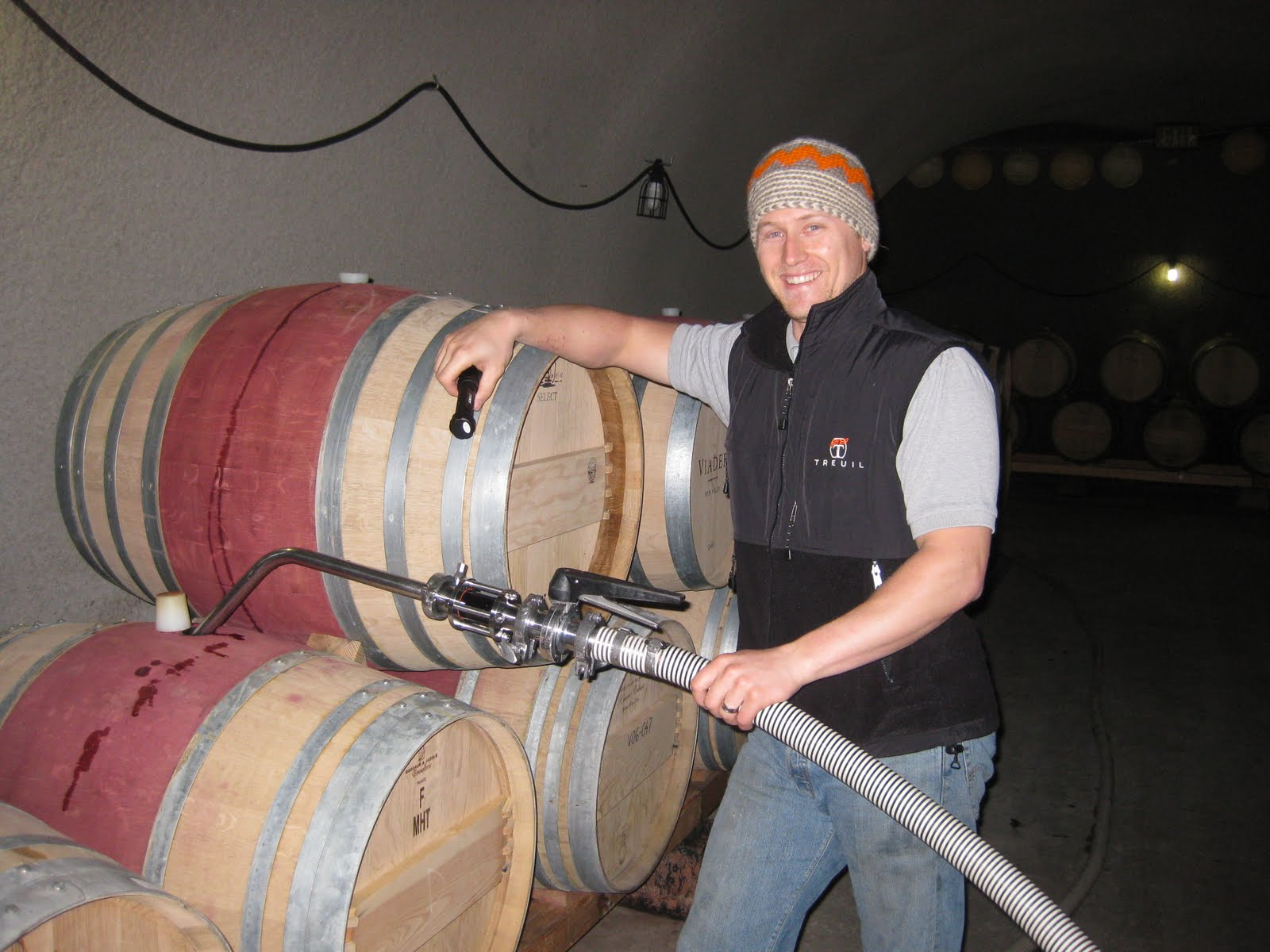 Racking Up Wines