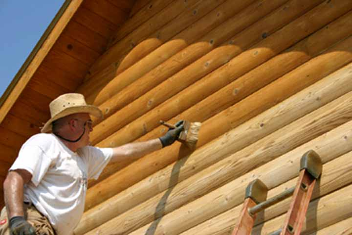 Chinking Cedar Homes: June 2010