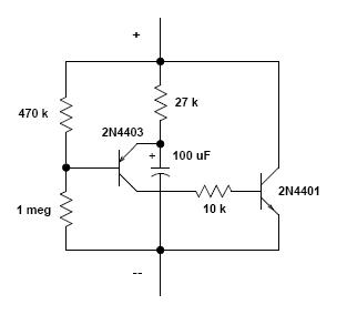 figure 1  is a solid state two wire led flasher that will flash even a  single led without the use of load resistor  it is so versatile and will  prove useful