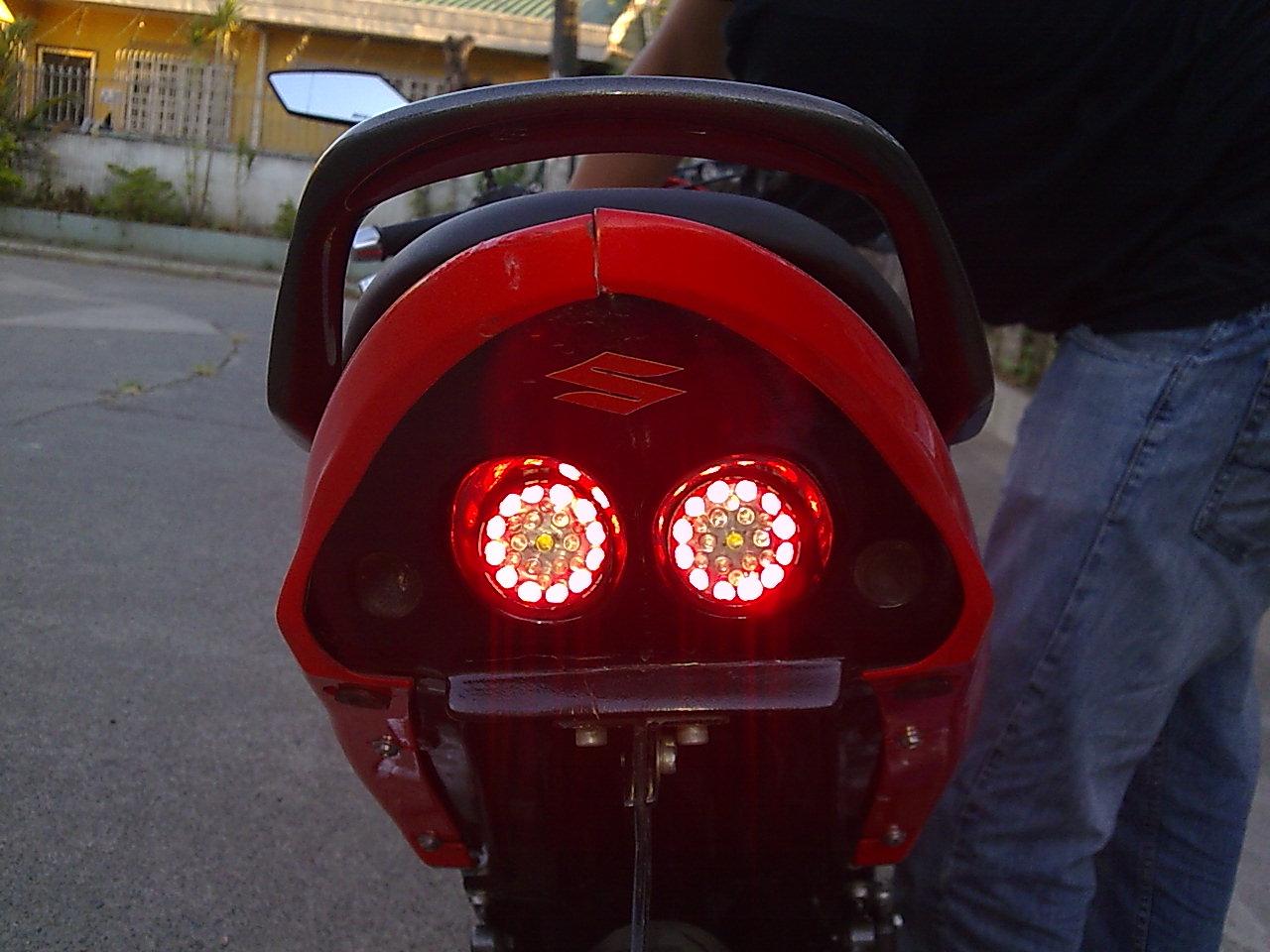 Suzuki Raider Underneath Lights