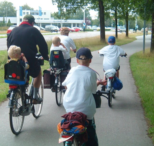 A view from the cycle path: Three types of safety