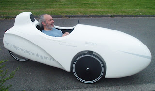 A view from the cycle path: Borrowing a velomobile