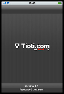 Tioti TV+ for iPhone, iPod touch in the App Store today
