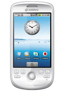 Magic, Vodafone's first Android-powered HTC cell phone