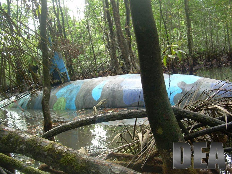 EagleSpeak: Drug Submarine: DEA Provides More Info, Photos