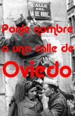 Ponle nombre a una calle de Oviedo