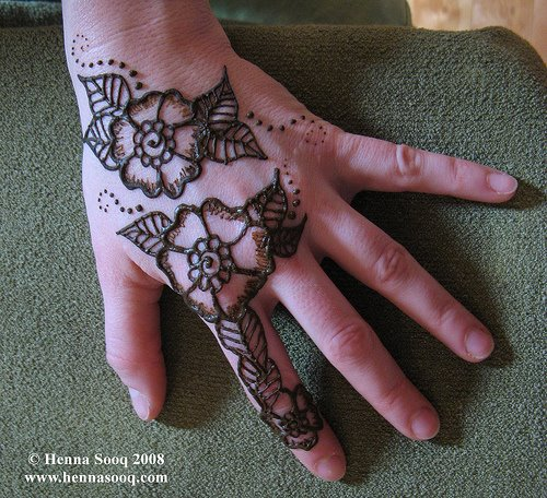 henna art work