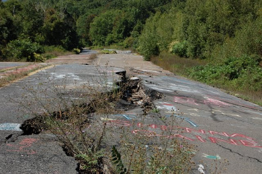 "Centralia, Pennsylvania, also known ""Real Silent Hill"""