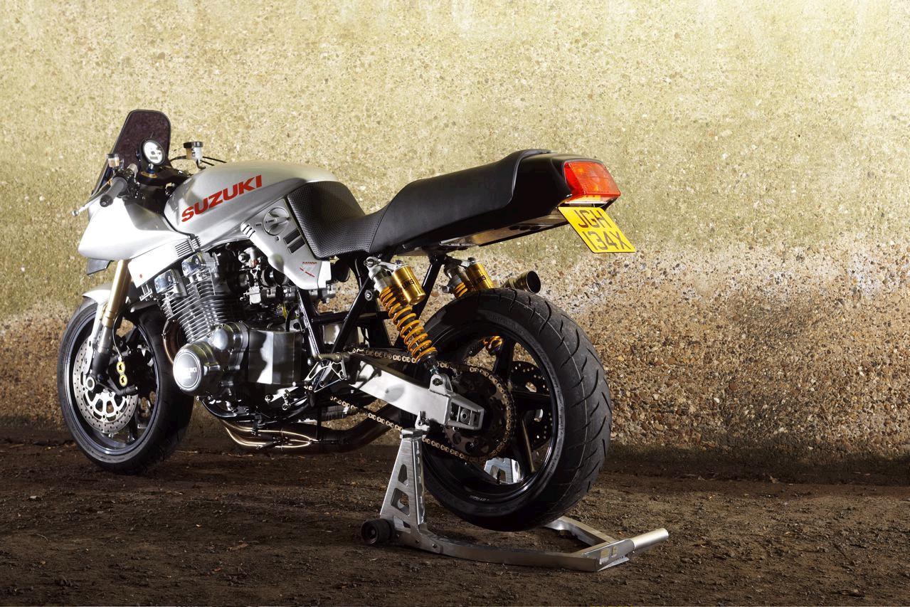 suzuki katana 1100: retro streetfighter done right!