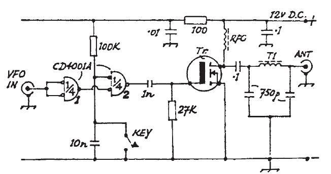 Experimentos y Notas de LU7HZ: Uso de amplificador usando
