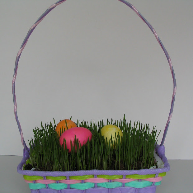 Sister Letters Tutorial Easter Basket Grass