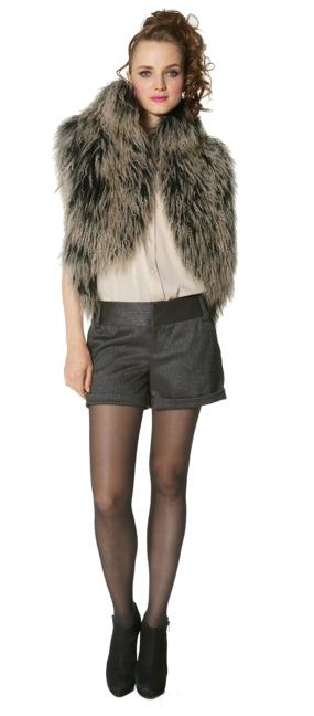 Fall 2010 : Trend : Fur Vest: Fall 2010: RTW