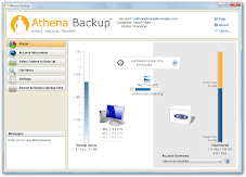 Athena Backup Screenshot