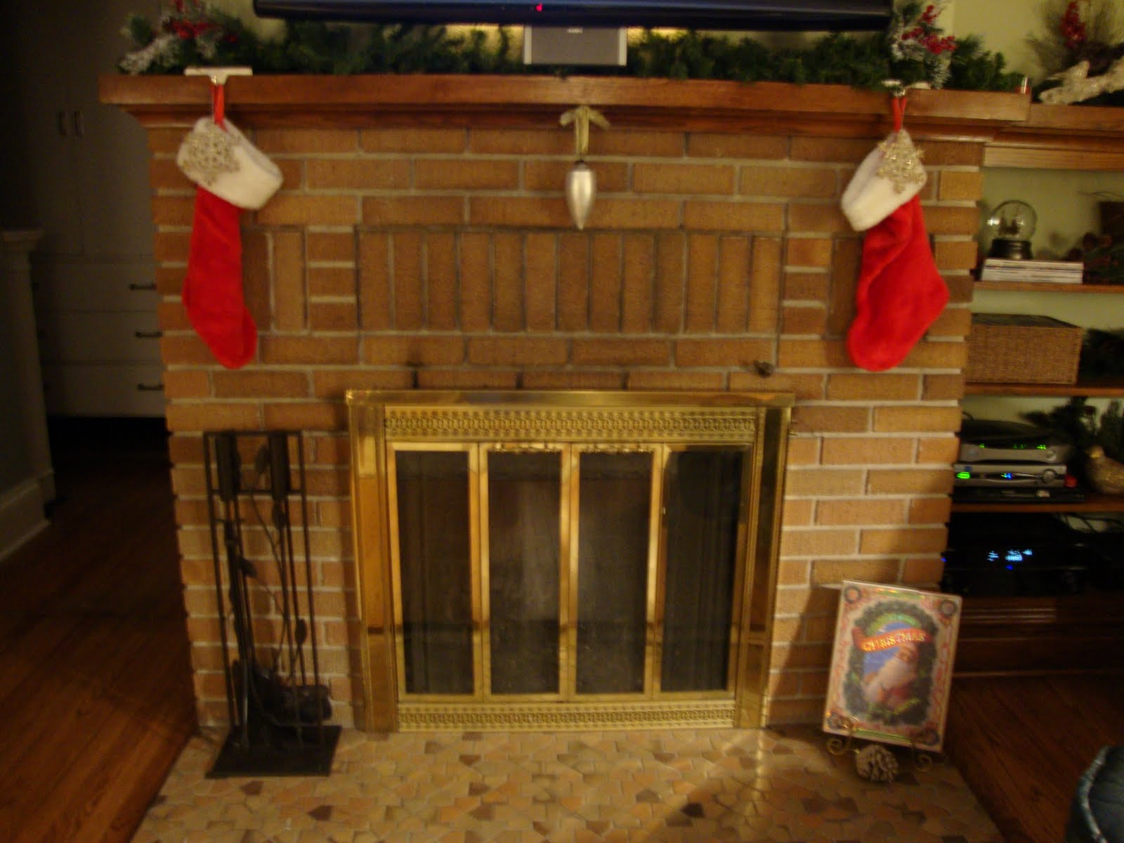J Amp K Homestead The Stockings Were Hung By The Chimney With