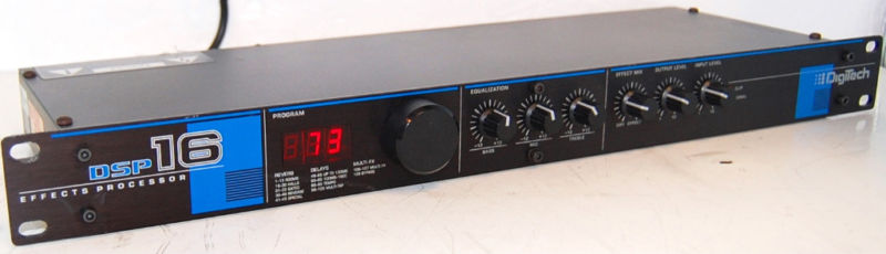 Rewind Audio Dod Digitech Dsp 16 Reverb Signal Effects