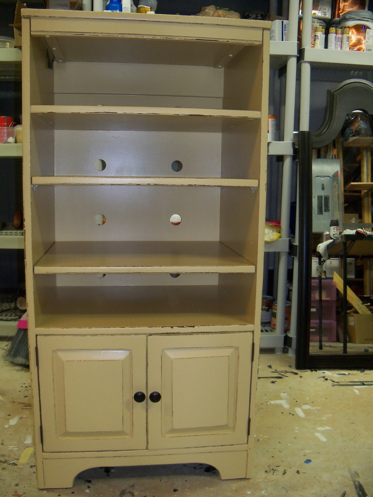 Jennifer S Furniture Painting Kitchen Cabinet Before And