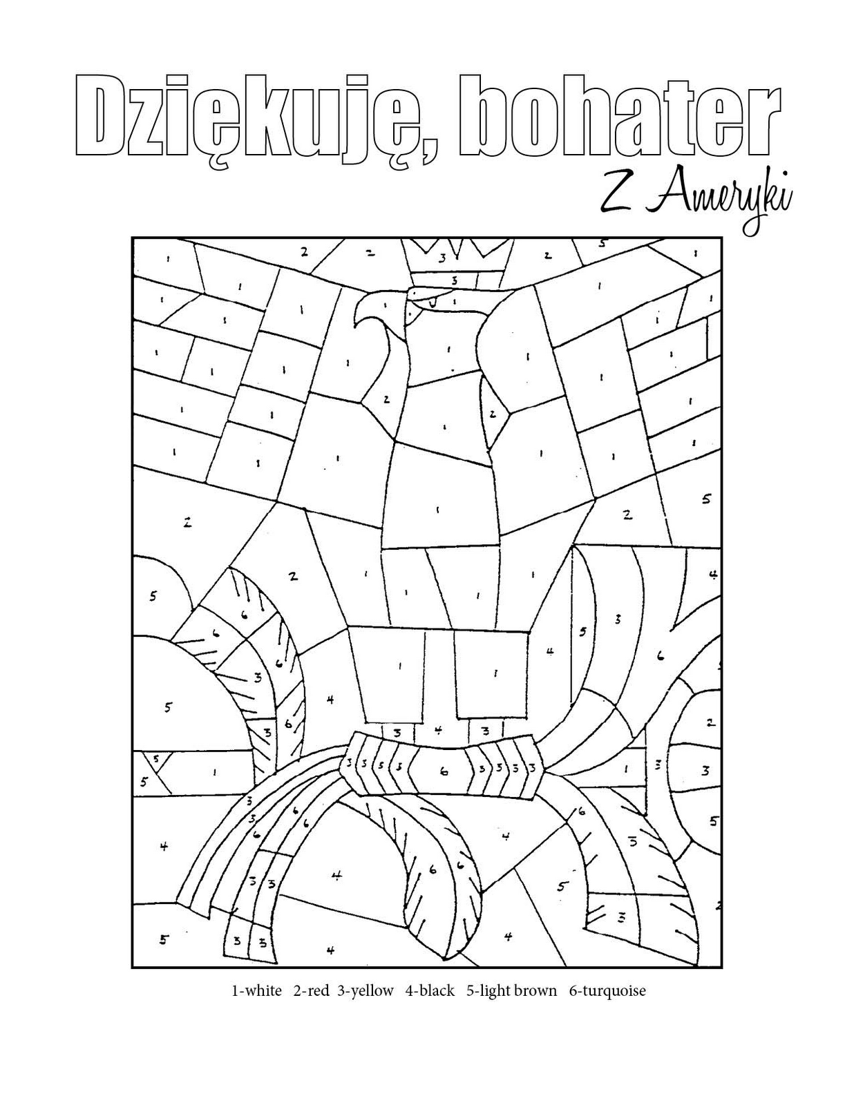 polish coloring pages | Request for a Polish general! | Sandy Allnock