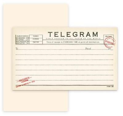 Love this telegram heading Like Like Kind of Like Pinterest - medical certificate form