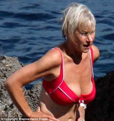 Helen mirren bikini picture