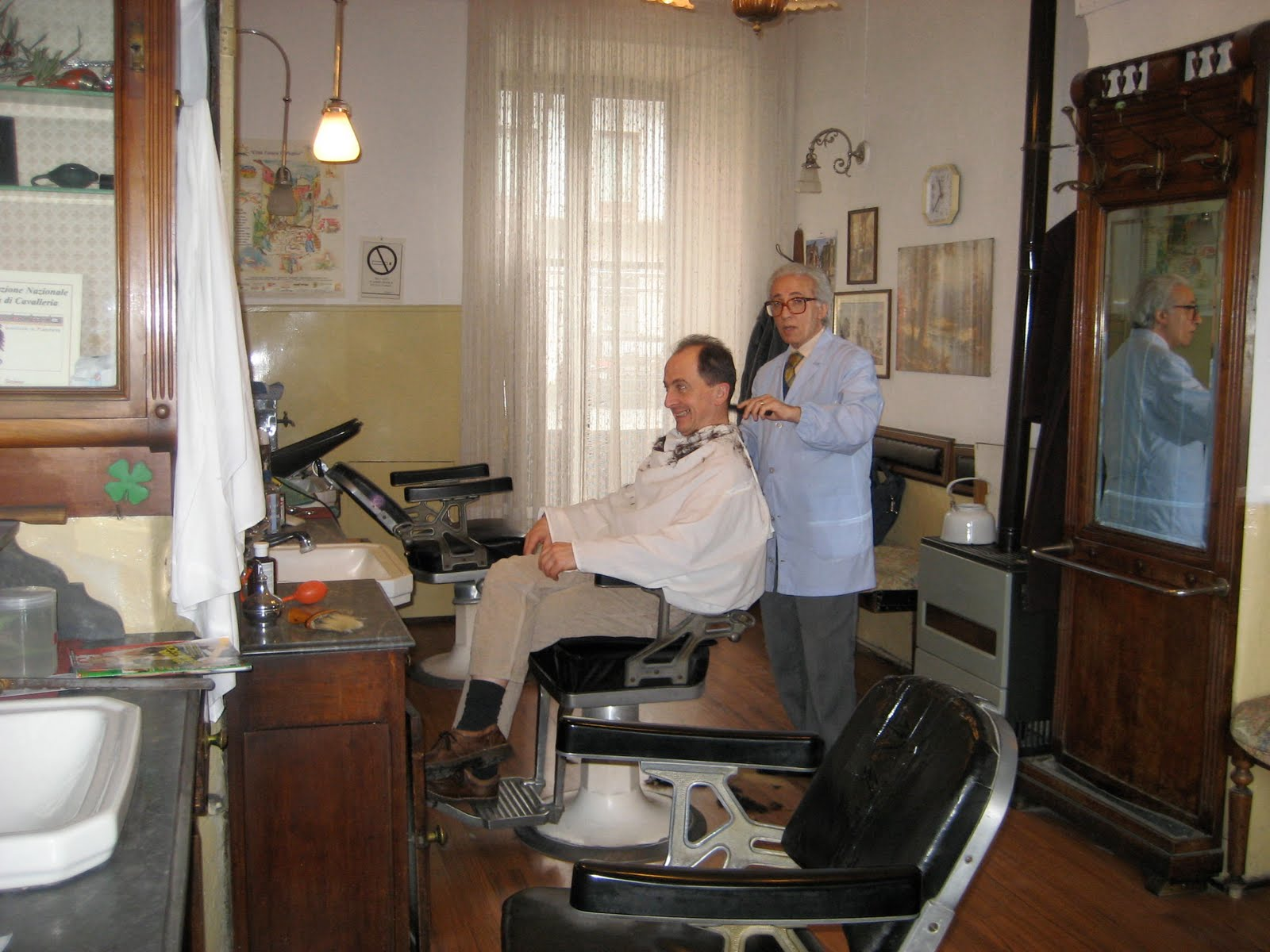 How Much Does A Barber Chair Cost Reclining And Half Leather Quotbella Baita View Quot Raffaele Il Barbiere The Of