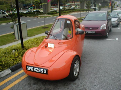 Q S Mind 3 Wheel Car